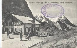 Grosse Scheidegg, Vue De Mettenberg, Mönch Et Eiger AK 1910 - Suisse