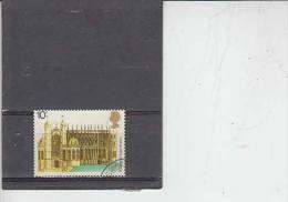 GRAN BRETAGNA   1975 - Unificato  754 - Architettura - 1952-.... (Elisabetta II)