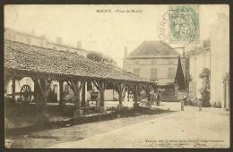 BRIOUX Place Du Marché (Fenioux Fernandus) Deux Sèvres (79) - Brioux Sur Boutonne