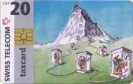 Schweiz - CP006  - Mt. Cevin - GEM1 - 20 CHF