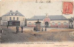 """¤¤  -   IS-sur-TILLE   -   Place De La République   -  Maison """" Gaillardet - Poupon """"  -  La Fontaine  -  ¤¤ - Is Sur Tille"""