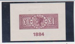GReat Britain London 1940 Exhibition Reprint Scott # 110  MH - Essays, Proofs & Reprints