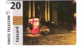 Schweiz - CP009 - GEM red - Phone booth in Winterthur - 01/1997  - 20 CHF