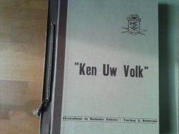 """Album """"Ken Uw Volk"""" Reeksen 65 Tot 96 De Beukelaar Antwerpen - Libros, Revistas, Cómics"""