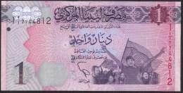 Libya 1 Dinar 2013 P76 UNC - Libye