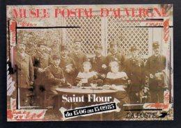 Poste Et Facteur - Personnel D'une Recette Principale Vers 1900 / Musée Postal De Saint Flour 1985 - Post & Briefboten