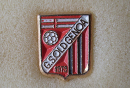 G.S. OldGenoa Calcio Distintivi FootBall Soccer Pins Spilla Novi Italy Liguria - Calcio