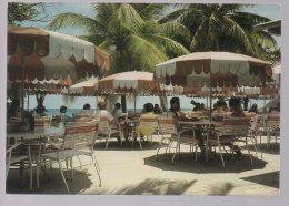 REF 226 CPSM GUADELOUPE Saint Martin Sint Maarten Bar à L'hotel Little Bay Beach - Saint Martin