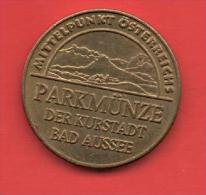Spielmarke - Jeton - PARKMUNZE - Profesionales/De Sociedad