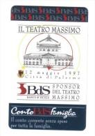 Il Teatro Massimo  10000 Lire Nuova Cod.schede.023 - Italia