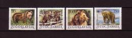 WWF 1988  JUGOSLAWIEN / YUGOSLAVIA / YOUGOSLAVIE - Mi. 2260-63** / MNH Tiere / Animals / Animaux - Bären / Bears / Ours - W.W.F.