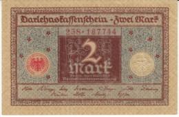Germany #60, 2 Marks Banknote Money Currency, 1 March 1920 Date - [ 3] 1918-1933 : República De Weimar