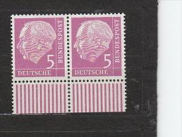 BRD **  179Y  Paar Heuss Lumogen Fluoreszenz Katalog  28,00 - [7] República Federal