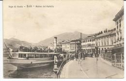 SALO -Lago Di Garda - Arrivo Del Battello - Brescia