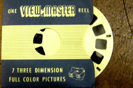 VIEW MASTER  SERIE USA    1415  LOURDES I SANCTUARY AND PILGRIMAGES FRANCE - Stereoscopes - Side-by-side Viewers