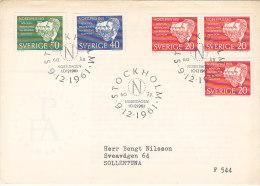 Suède - Sweden - Sverige- FDC - Nobel Prize 1901-1961 - FDC
