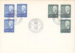 Suède - Sweden - Sverige- FDC - Gustaf Vladof 1967 - FDC