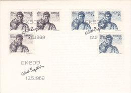 Suède - Sweden - Sverige- FDC - Eksjö Albert Engström 1969 - FDC