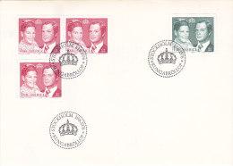 Suède - Sweden - Sverige- FDC - Kungabröllop 1976 - FDC