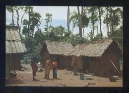 Africa T'espera Amb El Cor Obert *Missioneres Inmaculada Concepció* Circulada 1980. - Postales