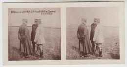 Stereoscope, Guerre 1914 -1918, Général Jiffre Gal Cadornat Et Général D'esperey (pk22334) - Photos Stéréoscopiques