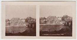 Stereoscope, Guerre 1914 -1918, Soissons Et Les Bords De L'Aisne 1918 (pk22335) - Photos Stéréoscopiques