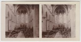 Stereoscope, Guerre 1914 -1918, Bataille De La Somme Eglise De Ribecourt (pk22336) - Stereo-Photographie