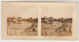 Stereoscope, Guerre 1914 -1918, Worldwar I, Le Cimetière Les Places Occupées (pk22341) - Photos Stéréoscopiques