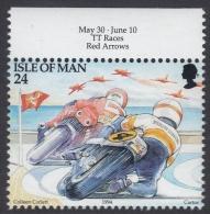 Isle Of Man 1994 Tourism: TT Races, Motorcycles. Mi 580 MNH - Motorfietsen
