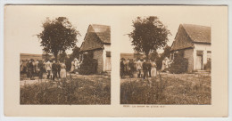 Stereoscope, Guerre 1914 -1918, Worldwar I, La Messe En Plein Air (pk22346) - Photos Stéréoscopiques