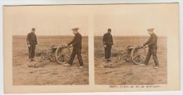 Stereoscope, Guerre 1914 -1918, Worldwar I, Pièce De 80 De Montagne (pk22350) - Stereoscoop