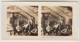 Stereoscope, Guerre 1914 -1918, Wordwar I, Au Camp, Intérieur D'un Baraquement (pk22359) - Stereoscoop