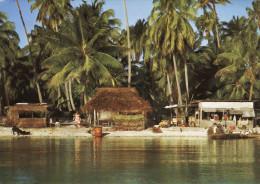 Rangiroa - Habitation Classique Des Atolls - Polynésie Française