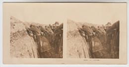 Stereoscope, Guerre 1914 -1918, Wordwar I, La Tranchée (pk22364) - Photos Stéréoscopiques