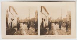 Stereoscope, Guerre 1914 -1918, Wordwar I, Blessé Arrivant Au Poste De Secours (pk22365) - Stereo-Photographie