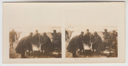 Stereoscope, Guerre 1914 -1918, Wordwar I, Le Brasero (pk22366) - Photos Stéréoscopiques