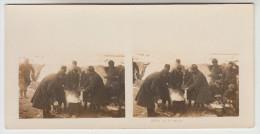 Stereoscope, Guerre 1914 -1918, Wordwar I, Le Brasero (pk22366) - Stereoscoop