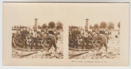 Stereoscope, Guerre 1914 -1918, Wordwar I, Au Camp Cuisiniers Sciant Du Bois (pk22368) - Stereo-Photographie