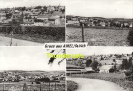 CPSM GRUSS AUS AMEL ST VITH - Saint-Vith - Sankt Vith