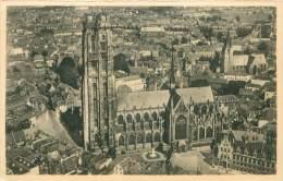 MECHELEN - Hoofdkerk St-Rombout (Luchtopname) - Mechelen