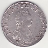 France - Louis XV - écu Vertugadin - Buste Enfantin - 1716A - B0870 - France