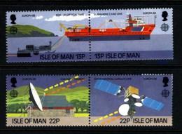 GB ISLE OF MAN IOM - 1988 EUROPA COMMUNICATIONS AND TRANSPORT SET (4V) FINE MNH ** - Europa-CEPT