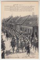 Roesbrugge, Rousbrugge 24 ma 1915, duitschers rons yper gevangen genomen door Franse Kuirassiers  (pk22391)