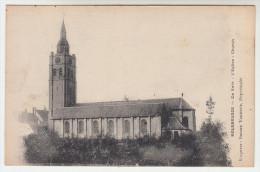 Roesbrugge, Rousbrugge, de kerk (pk22397)