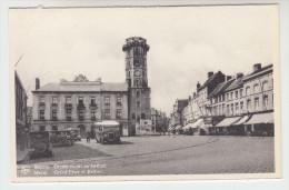 Meenen, Menen, Groote Markt En Belfort (pk22401) - Menen