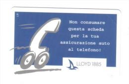 Lloyd 1885 10000 Lire Nuova Cod.schede.026 - Italia