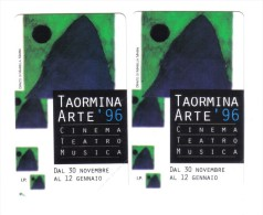 Taormina Arte 96 5000+10000 Lire Nuova Cod.schede.027 - Italia
