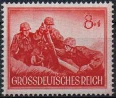 ALLEMAGNE DEUTSCHES III REICH 795 ** Militaria : Soldat De L´infanterie Et Mortier - Ungebraucht