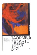 Taormina Arte 1997 5000 Lire Nuova Cod.schede.030 - Italia