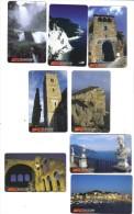 Liguria Lazio X 2 Campania Toscana Sardegna Umbria Marche 10000 Lire Nuova Cod.schede.036 - Italia